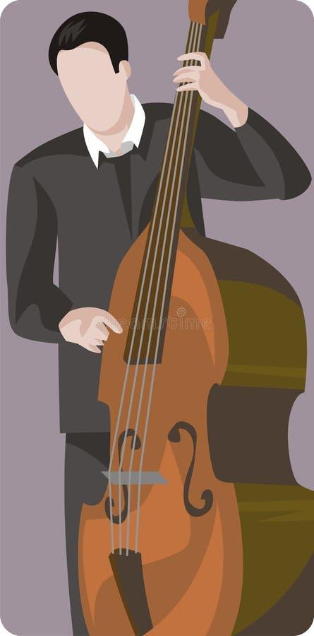 例证音乐家系列 库存例证