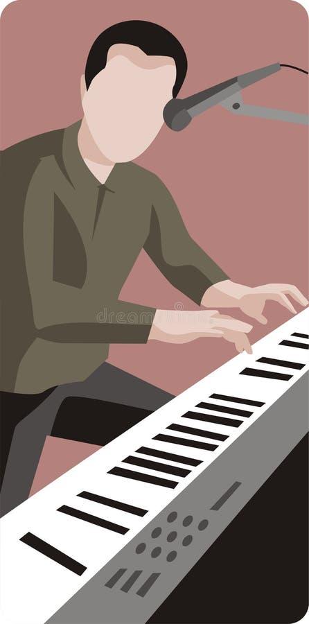 例证音乐家系列 皇族释放例证