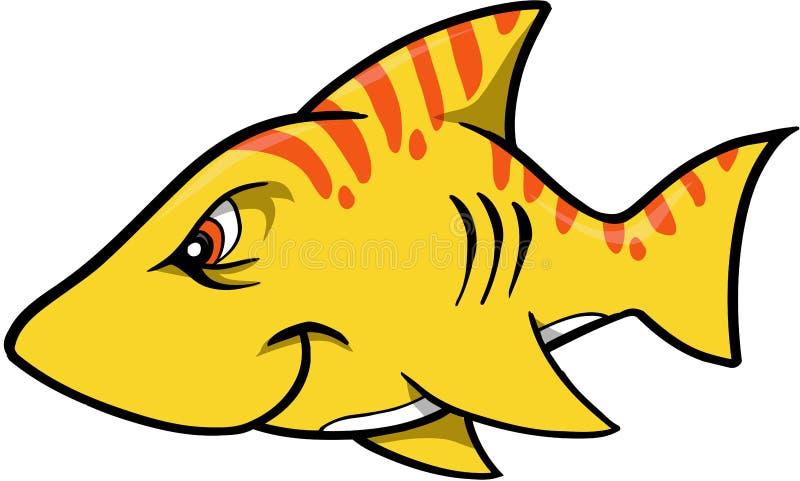 例证鲨鱼向量 库存例证