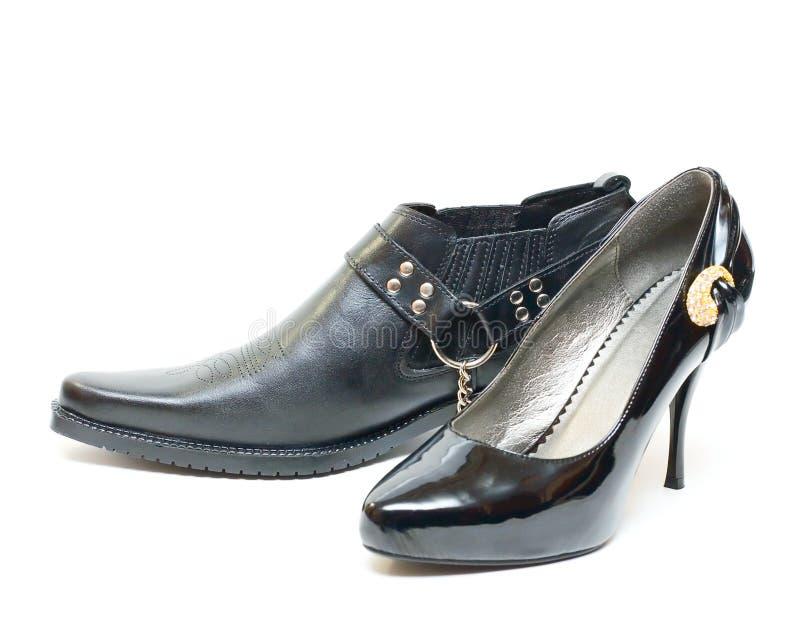 供以人员鞋子womans 免版税库存图片