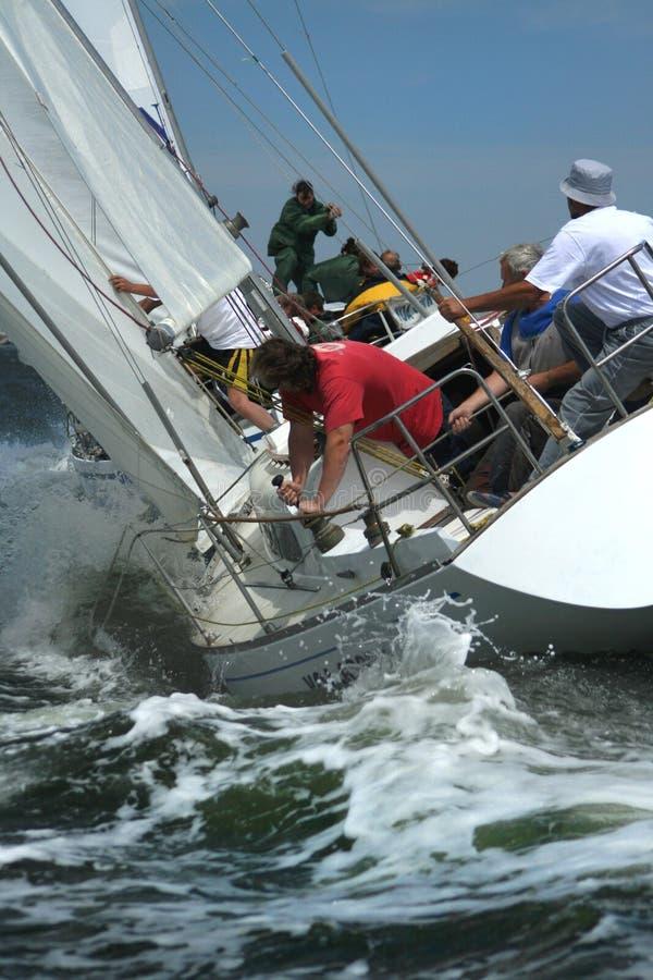 供以人员s海运风暴 免版税库存照片