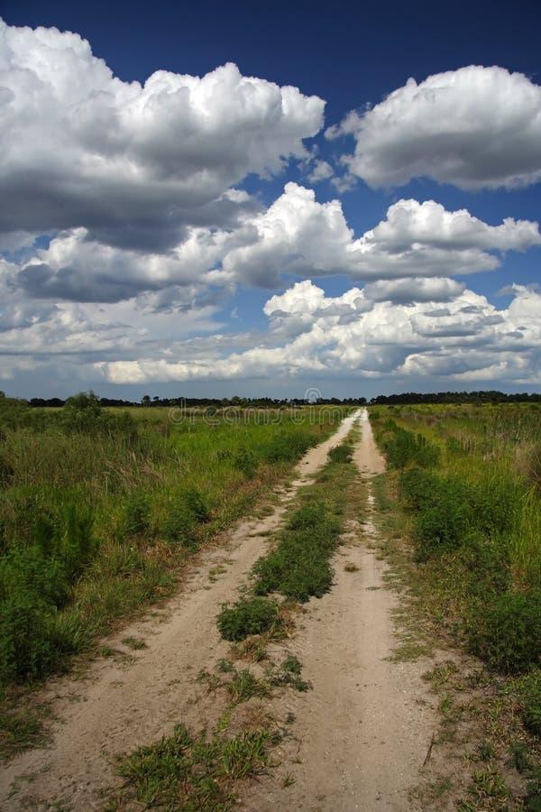 供徒步旅行的小道 免版税图库摄影