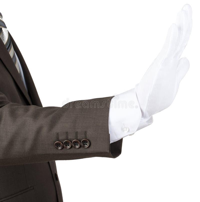 Download 供以人员在白色手套陈列中止姿态的手 库存图片. 图片 包括有 特写镜头, 打手势, 领导先锋, 男朋友, 消息 - 72354939