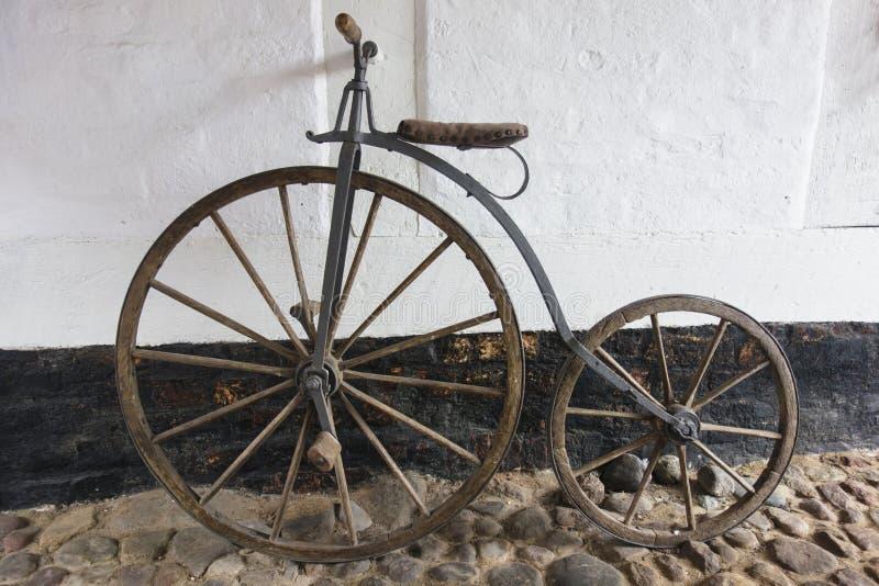 便士极少量自行车 免版税图库摄影