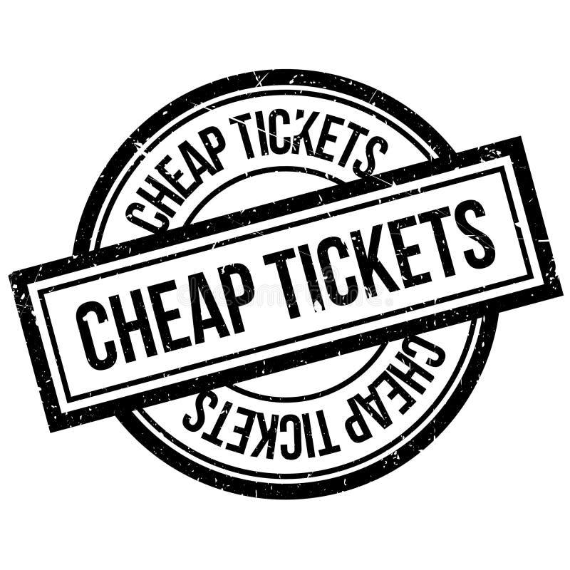 便宜的票不加考虑表赞同的人 库存例证