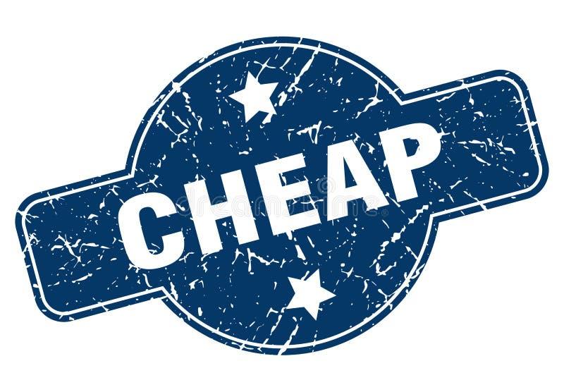 便宜的邮票 库存例证