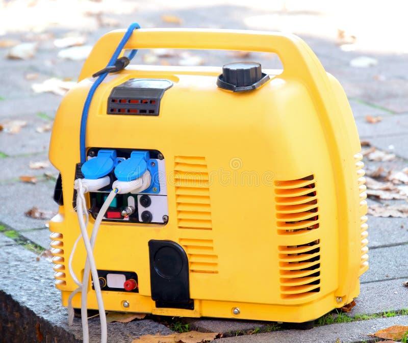 便携式的发电器力量 库存照片