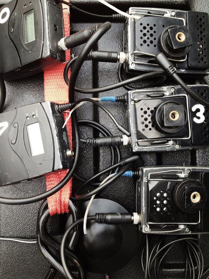便携式的无线合理记录员 库存图片