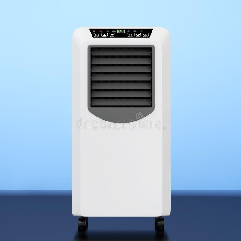 便携式的流动室空调器 3d翻译 皇族释放例证