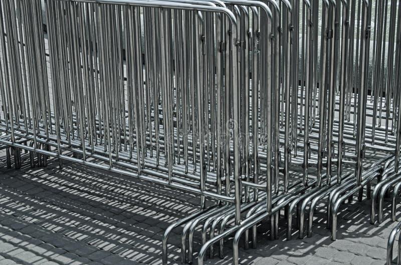 便携式的障碍 免版税图库摄影