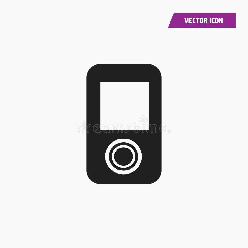 便携式的iPod传媒播放装置象 皇族释放例证