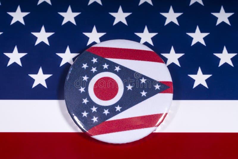 俄亥俄州在美国 库存照片