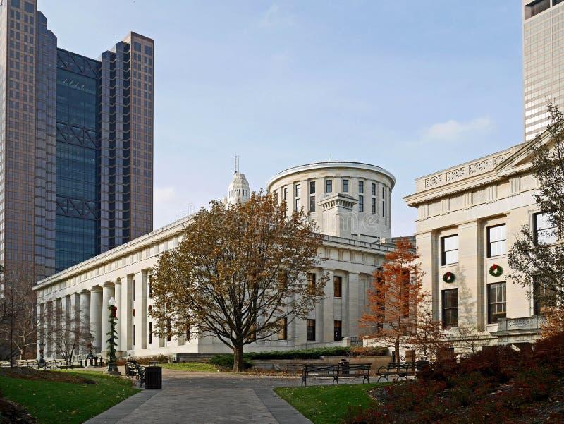 俄亥俄状态国会大厦 免版税库存照片