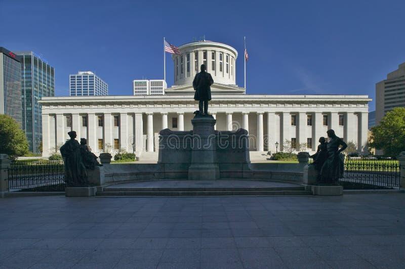 俄亥俄的状态国会大厦, 免版税库存图片