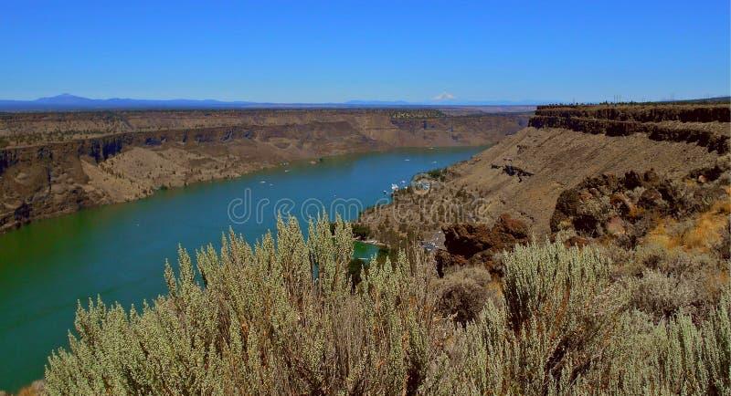 俄勒冈峡谷国家 库存照片