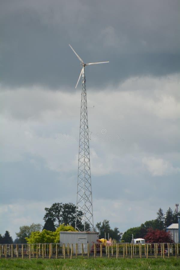 俄勒冈州风车#x27;s威拉梅特谷 图库摄影