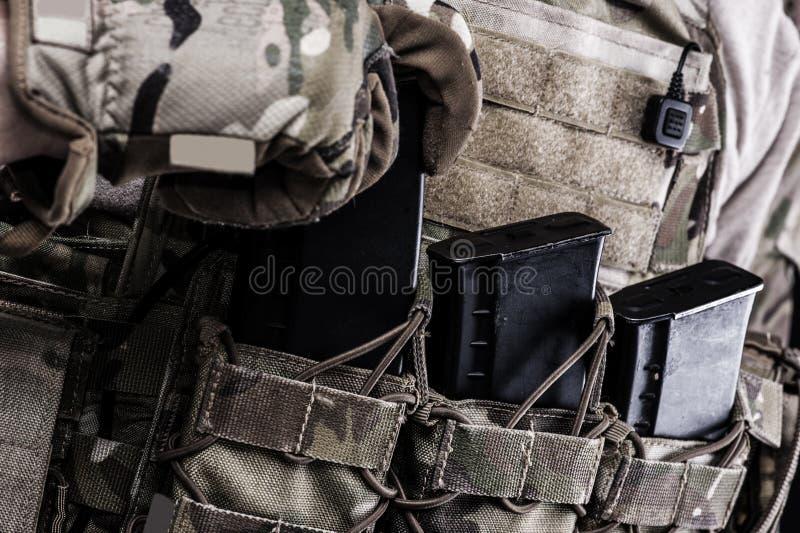 俄国人武力 图库摄影