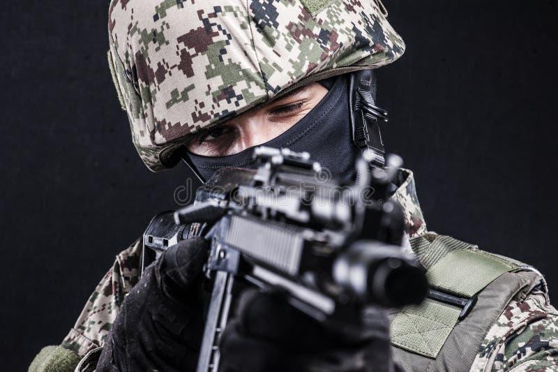 俄国人武力 免版税库存照片