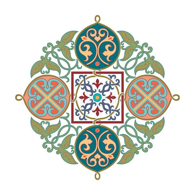 俄国凯尔特东方装饰品-例证设计 皇族释放例证