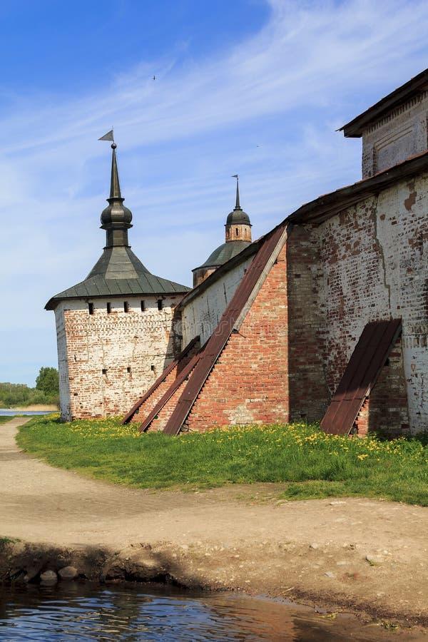 俄国北部堡垒  库存图片