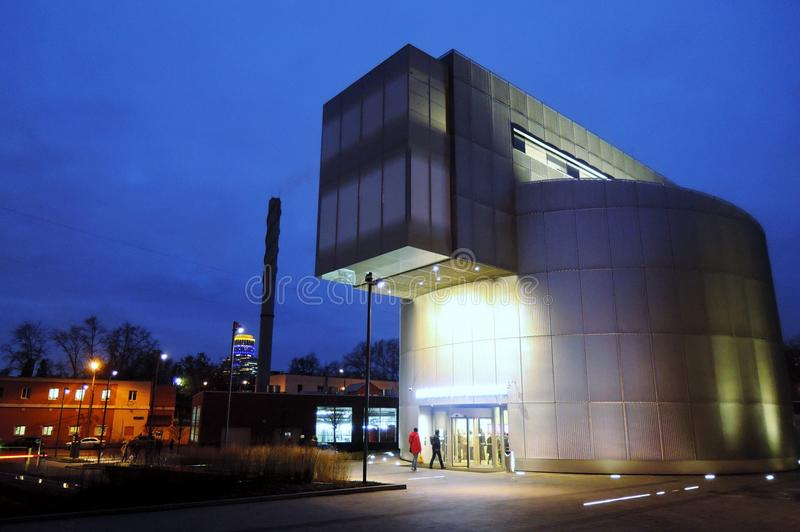 俄国印象主义博物馆在莫斯科 库存图片