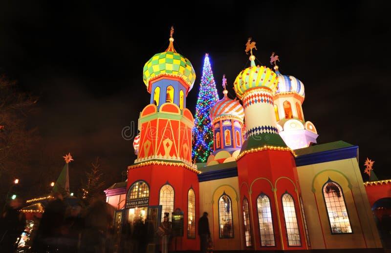俄国圣诞节 免版税库存图片