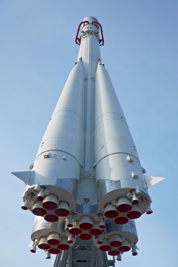 俄国太空飞船沃斯托克 免版税图库摄影