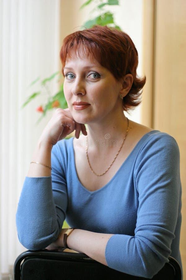 俄国妇女 免版税图库摄影