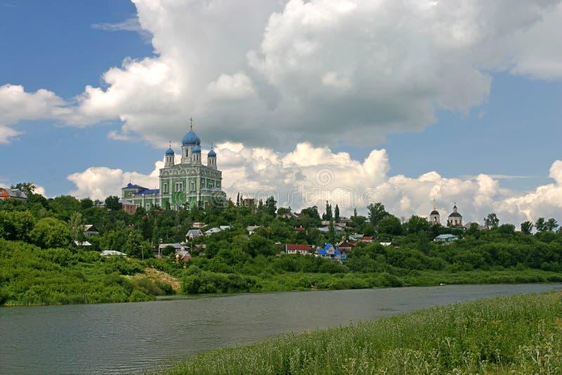 俄国寺庙 免版税库存图片