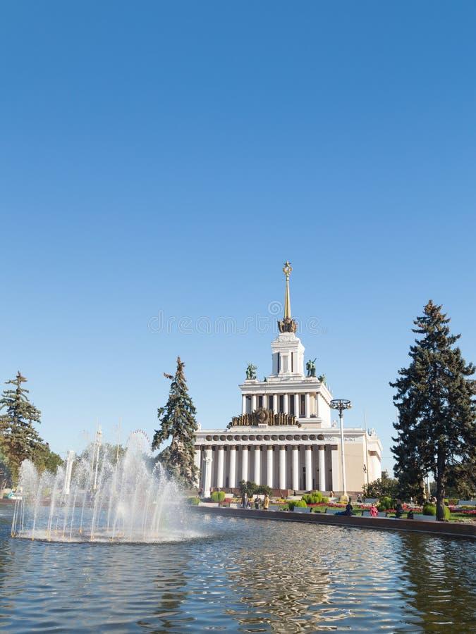 俄国展览会 免版税库存图片