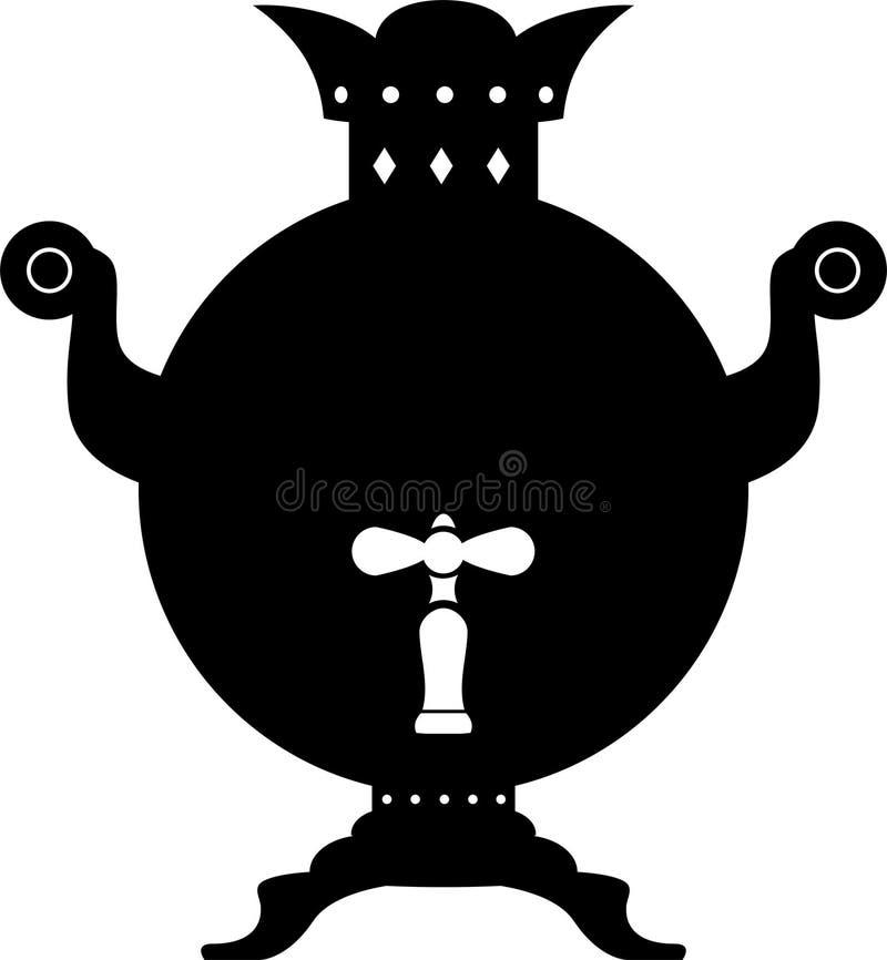 俄国式茶炊 皇族释放例证
