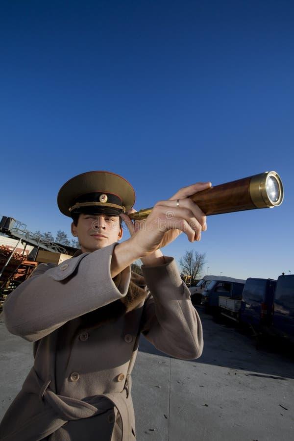 俄国战士 库存图片