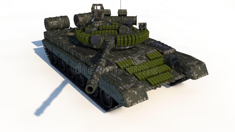 俄国战斗的坦克 库存例证
