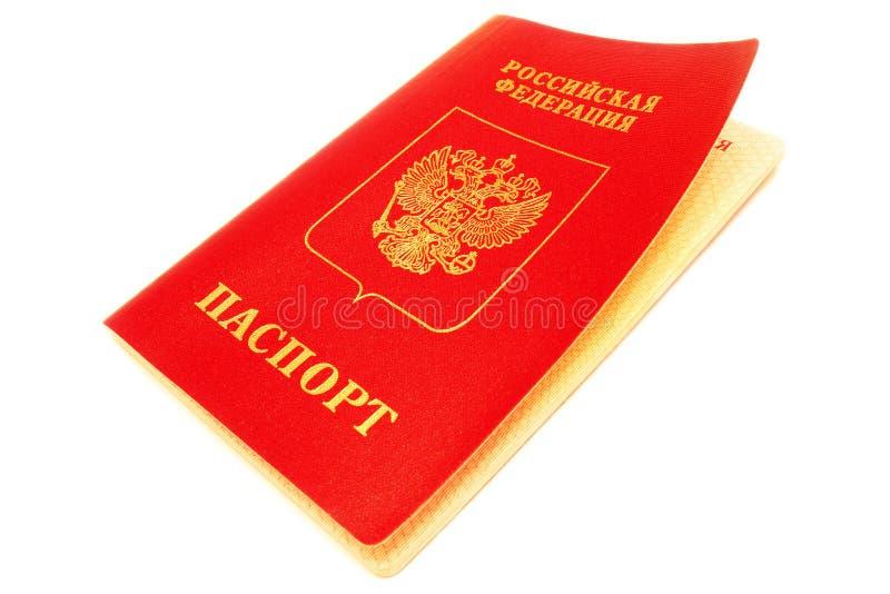 俄国护照。 库存图片