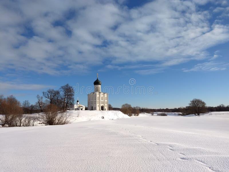 俄国教会 图库摄影