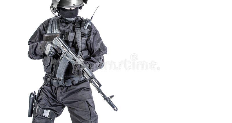 俄国特种部队 免版税库存照片