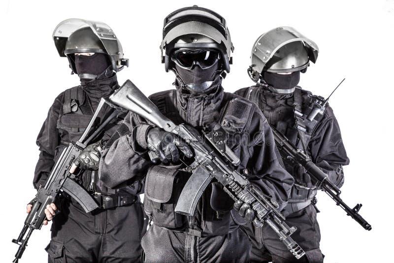 俄国特种部队 图库摄影