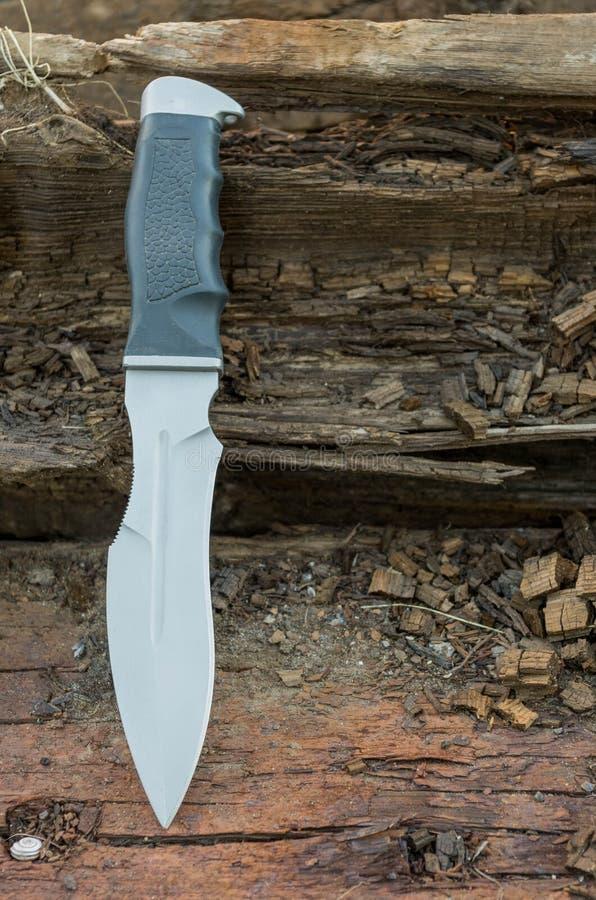 俄国着陆的刀子 库存图片
