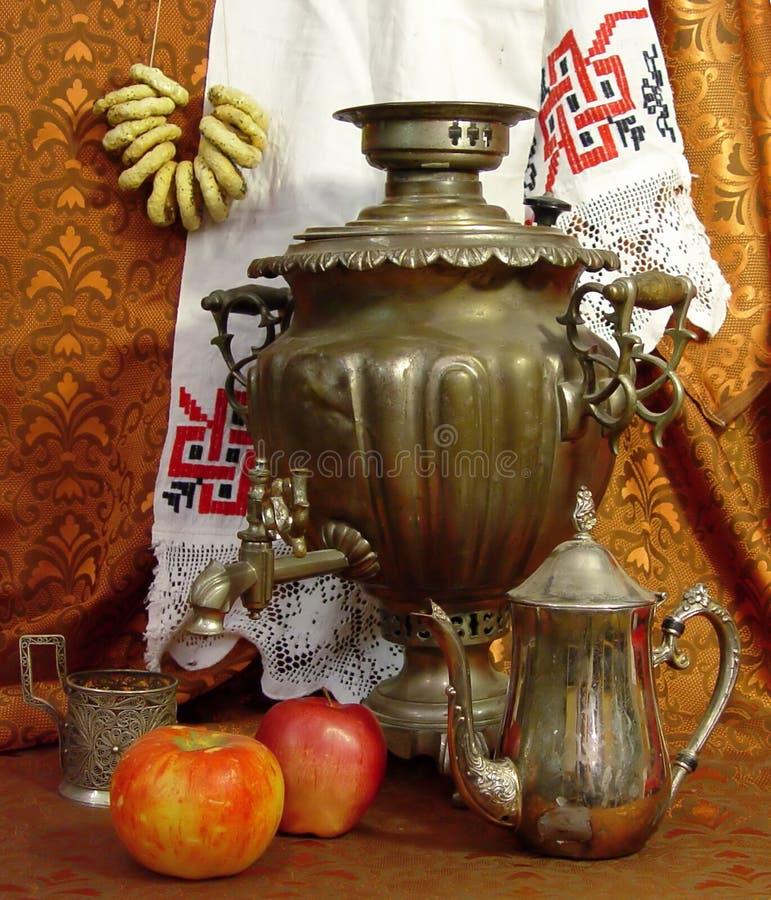 俄国茶 库存图片