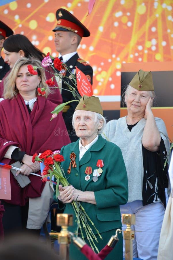 俄国退伍军人 库存图片