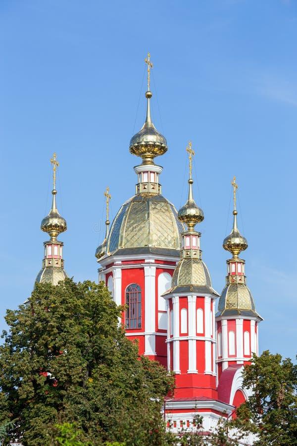俄国 坦波夫 圣约翰教会喀山Monaster的浸礼会教友 免版税库存图片
