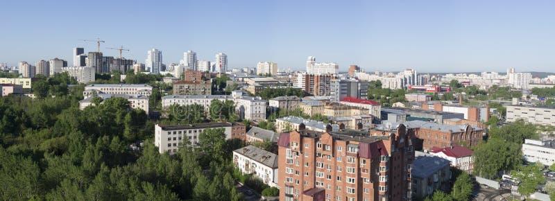 俄国 城市Ekaterinburg 免版税库存照片