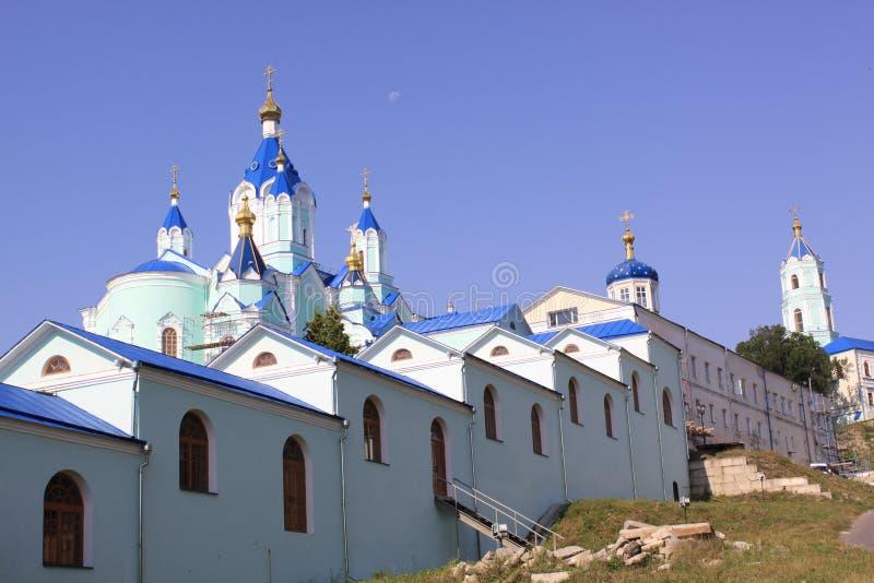 俄国 库尔斯克根库尔斯克地区维尔京偏僻寺院修道院的诞生  免版税库存照片