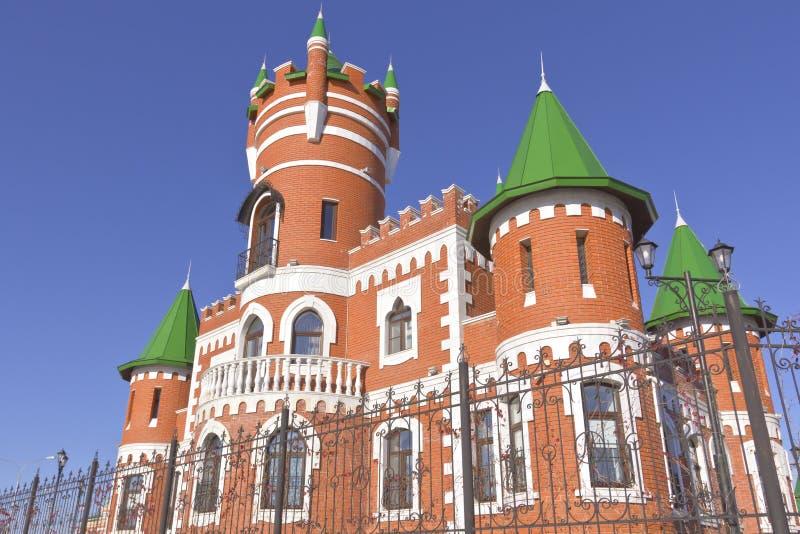 俄国建筑学和传统约什卡尔奥拉俄罗斯 免版税库存照片
