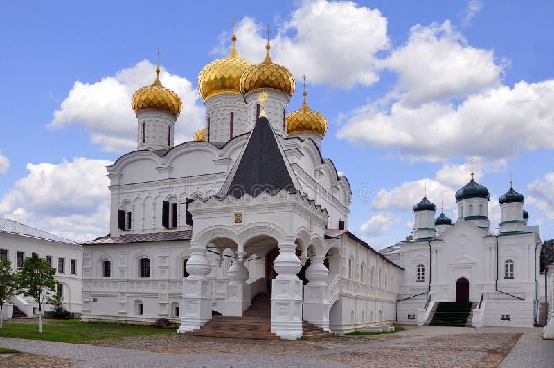 俄国 Kostroma Ipatievskiy修道院 图库摄影