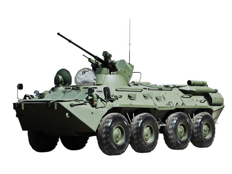 俄国BTR-82装甲运兵车 免版税库存照片