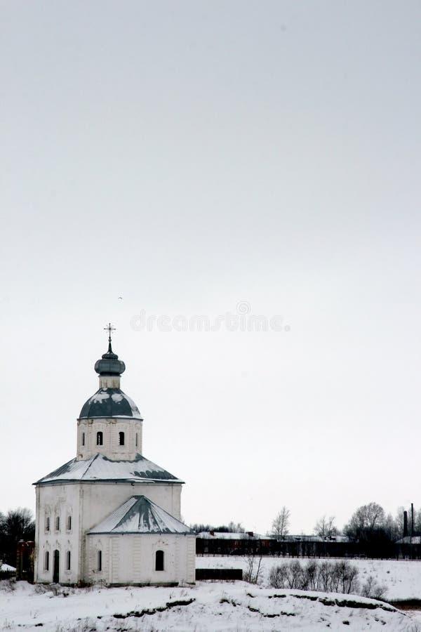 俄国suzdal冬天 免版税库存照片
