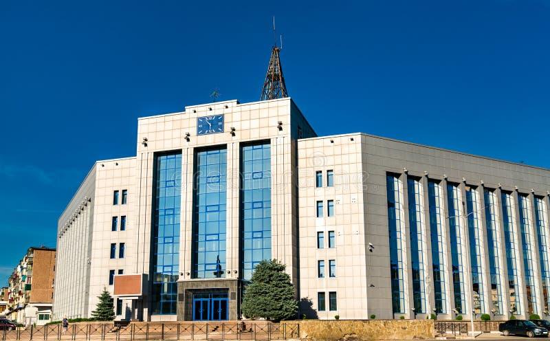 俄罗斯利佩茨克的国家中央银行大楼 图库摄影