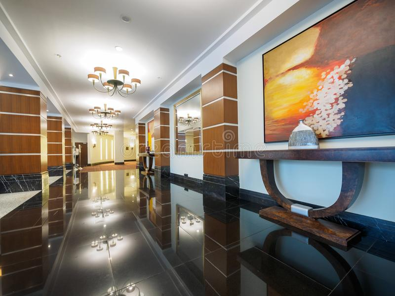 俄罗斯圣彼得堡科林蒂亚酒店 库存照片