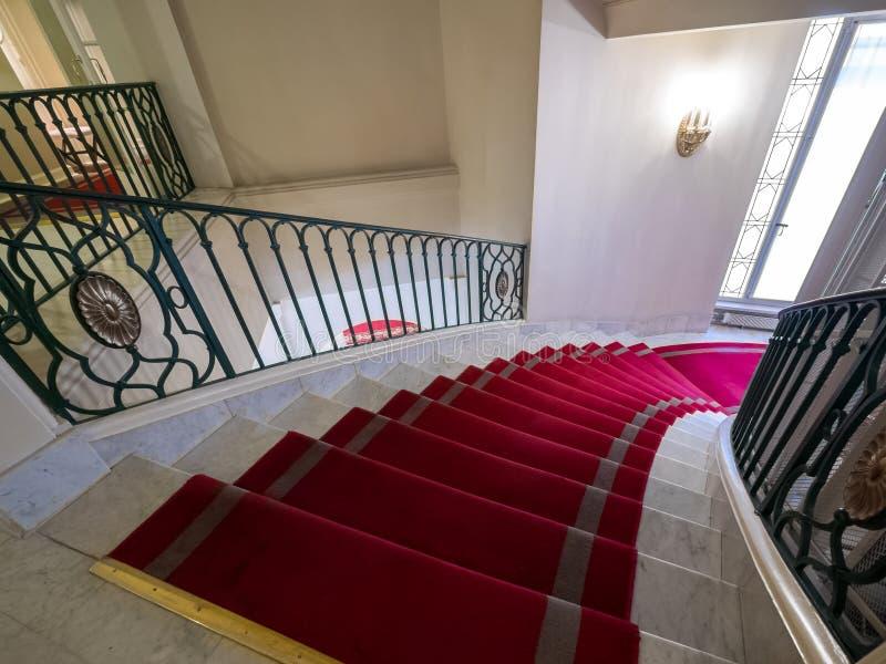俄罗斯圣彼得堡阿斯托利亚酒店 免版税图库摄影